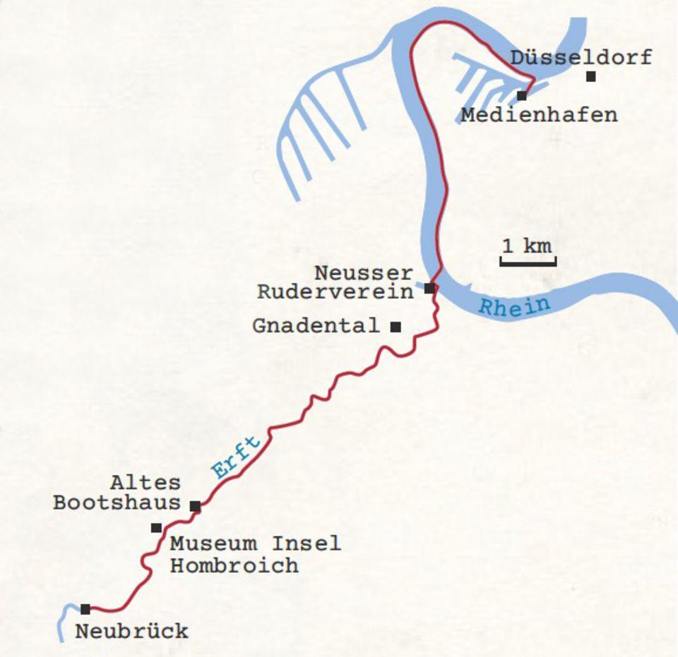 Kanutour Düsseldorf