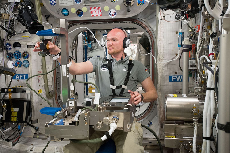 Alexander Gerst, ISS