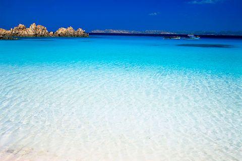 Sardinien, Maddalena, Budelli, Spiaggia Rosa