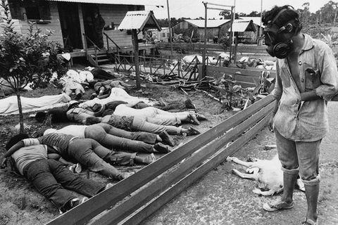 Massenselbstmord in Jonestown, Guyana, Nov. 20, 1978