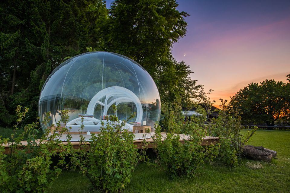 Bubble Hotel, Bodesee