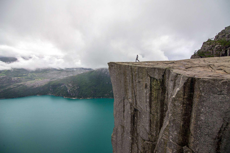 Preikestolen, Norwegen