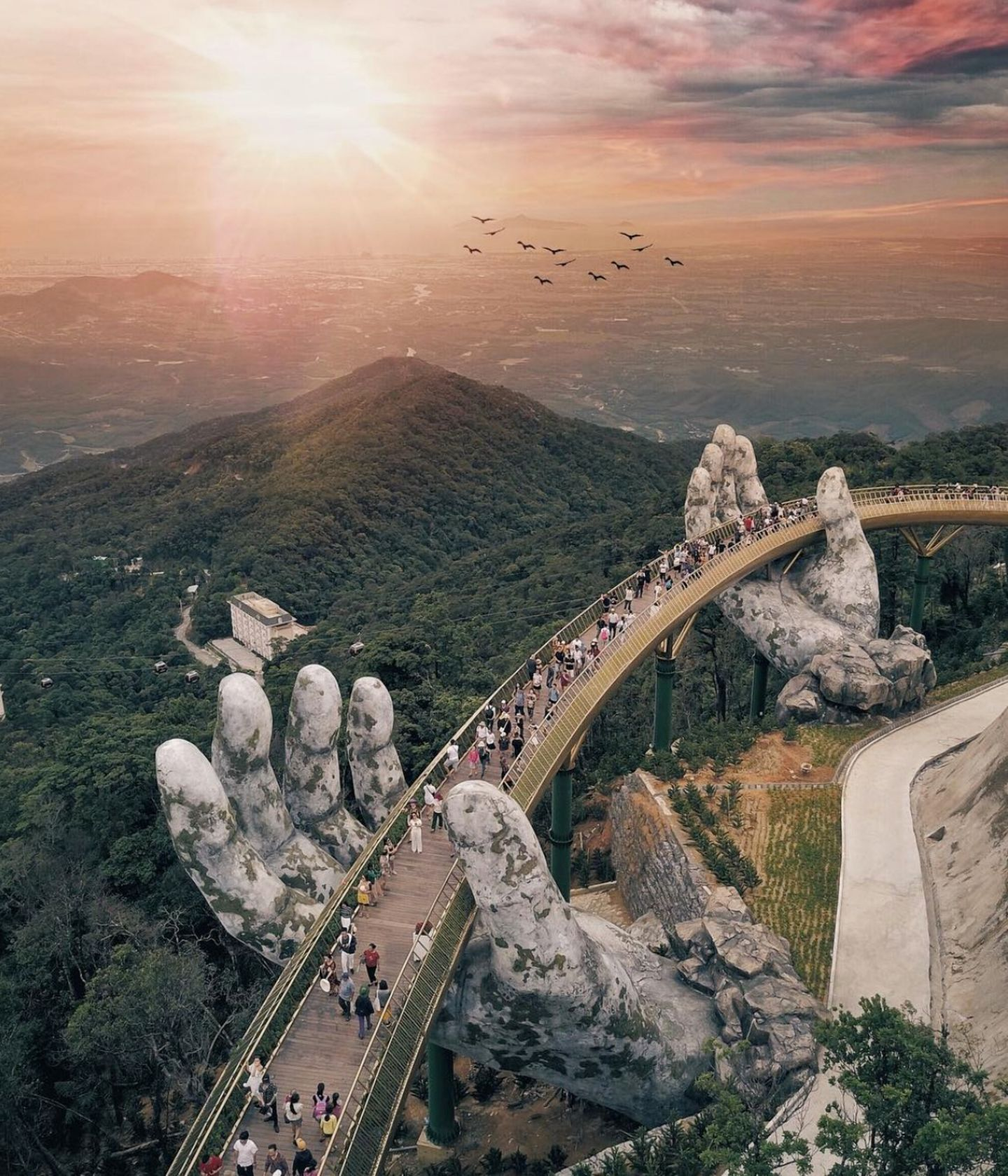 Da Nang, neue Brücke, Vietnam