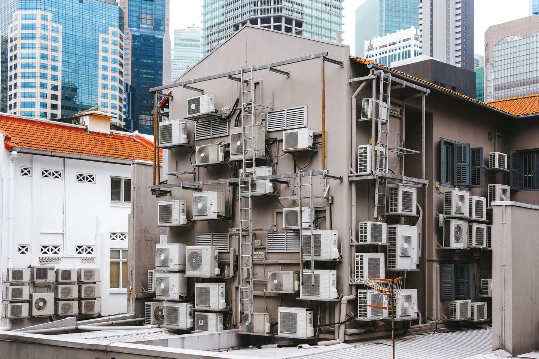 Teufelskreis: Wie Klimaanlagen das Klima aufheizen