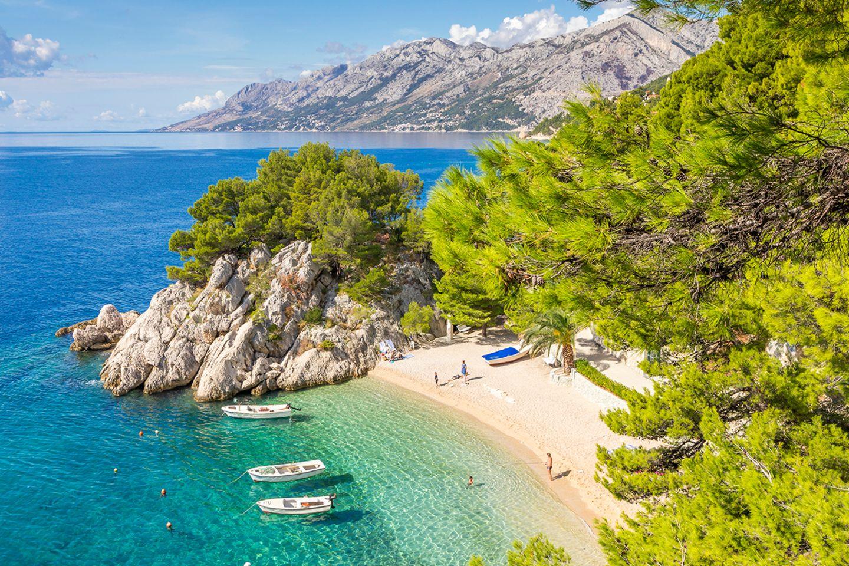 Podrace Beach, Kroatien