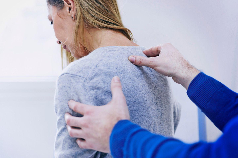 Behandlung von Rückenschmerzen