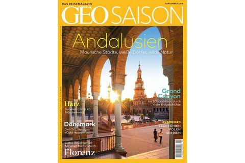 GEO Saison Nr. 09/2018: Andalusien: Maurische Städte, weiße Dörfer, wilde Natur