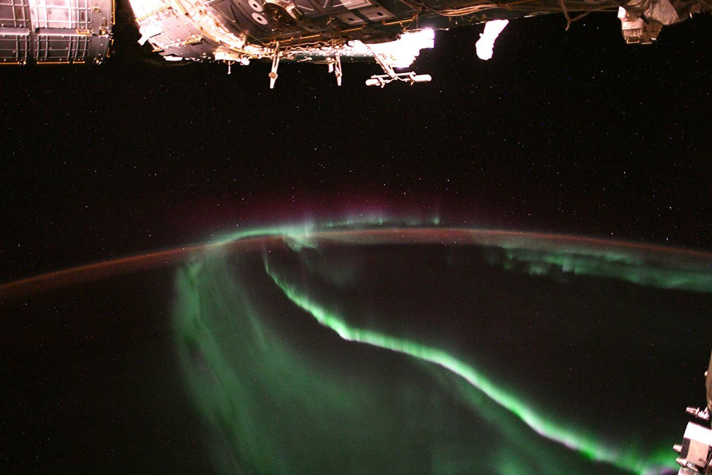 Aurora fotografiert von Alexander Gerst