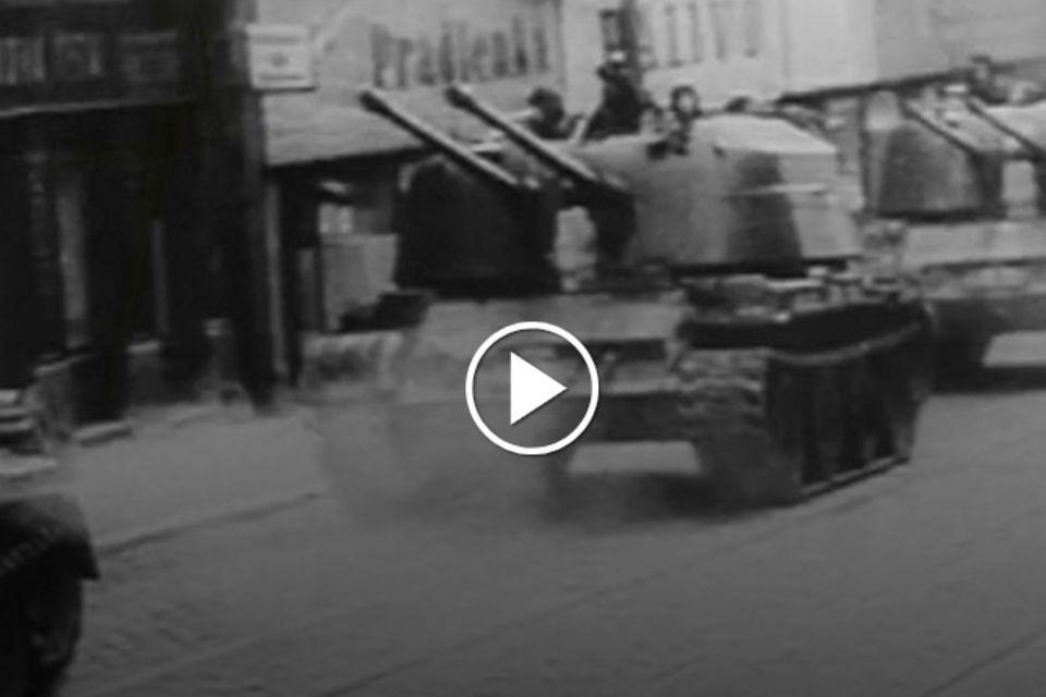 21. August 1968: Ende des Prager Frühlings: Als Moskau seine Panzer schickte