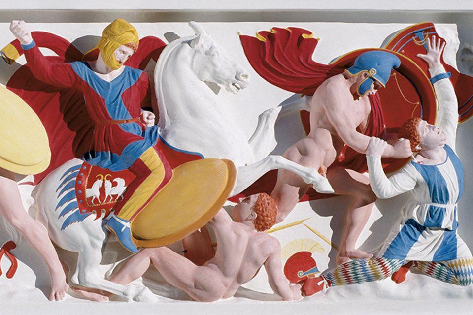 Götter in bunt: So bunt waren die antiken Statuen