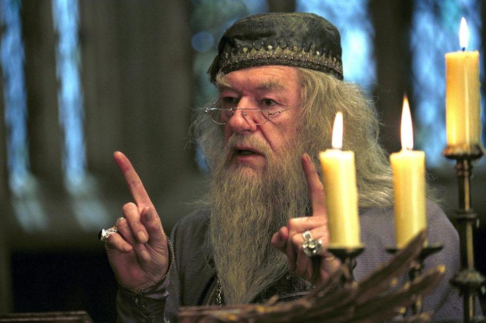 Weisheiten: Albus Dumbledore, Schulleiter von Hogwarts, ist ein kluger Kopf und steckt voller Weisheiten