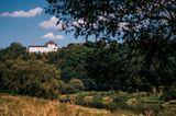 Blick von Wehrden nach Fürstenberg