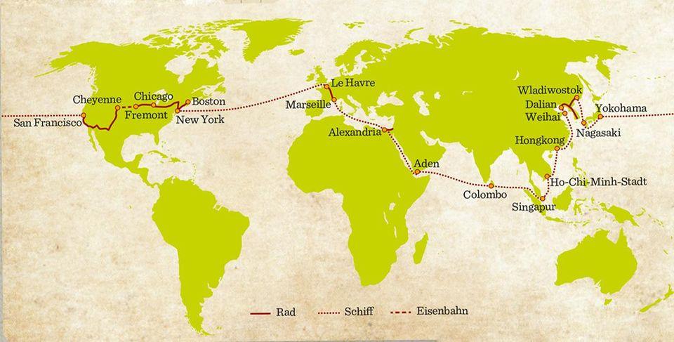 Annie Londonderrys Weltreise