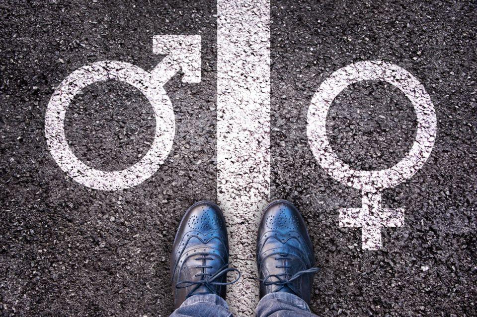 Symbol Männlich - Weiblich