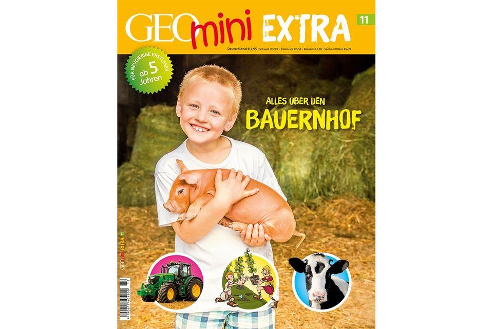 GEOmini Extra Nr. 11: Alles über den Bauernhof