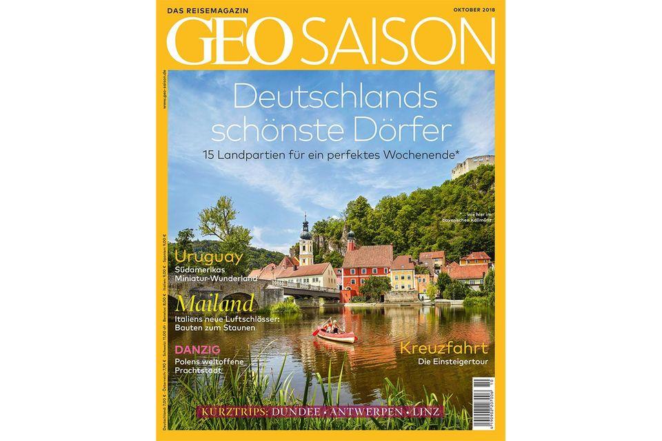 GEO Saison Nr. 10/2018 : GEO Saison Nr. 10/2018 - Deutschlands schönste Dörfer