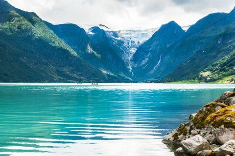 Briksdal Gletscher, Norwegen