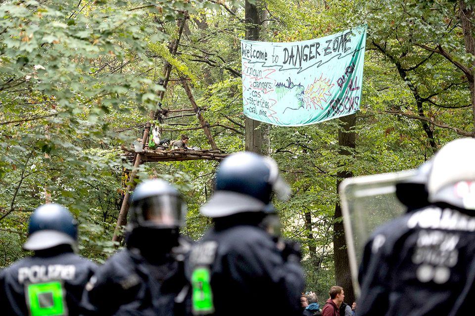 Räumung, Hambacher Forst