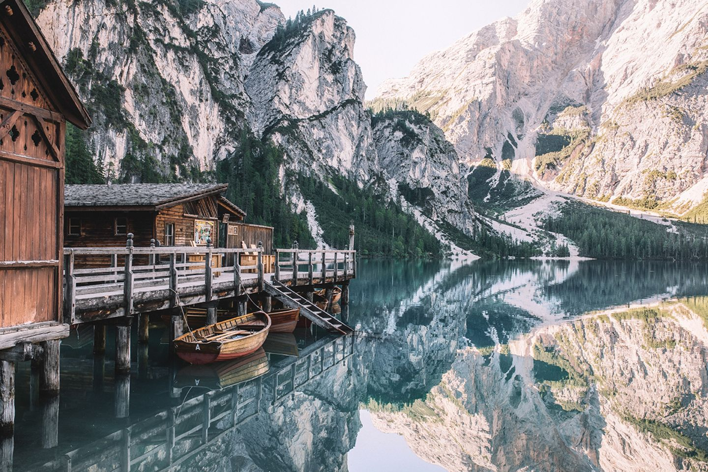 Bergsee, Spiegelung