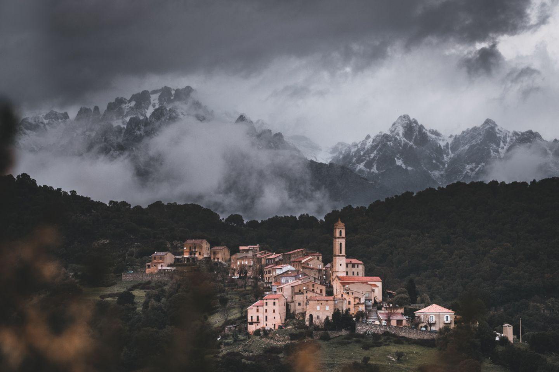 Bergdorf, Korsika