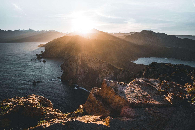 Capo Rosso, Korsika