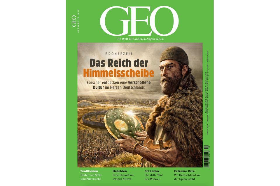GEO Nr. 10/2018: GEO Nr. 10/2018 - Das Reich der Himmelsscheibe