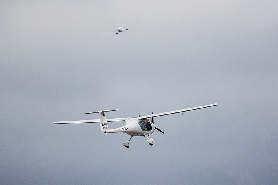 Elektroflugzeug von Avinor