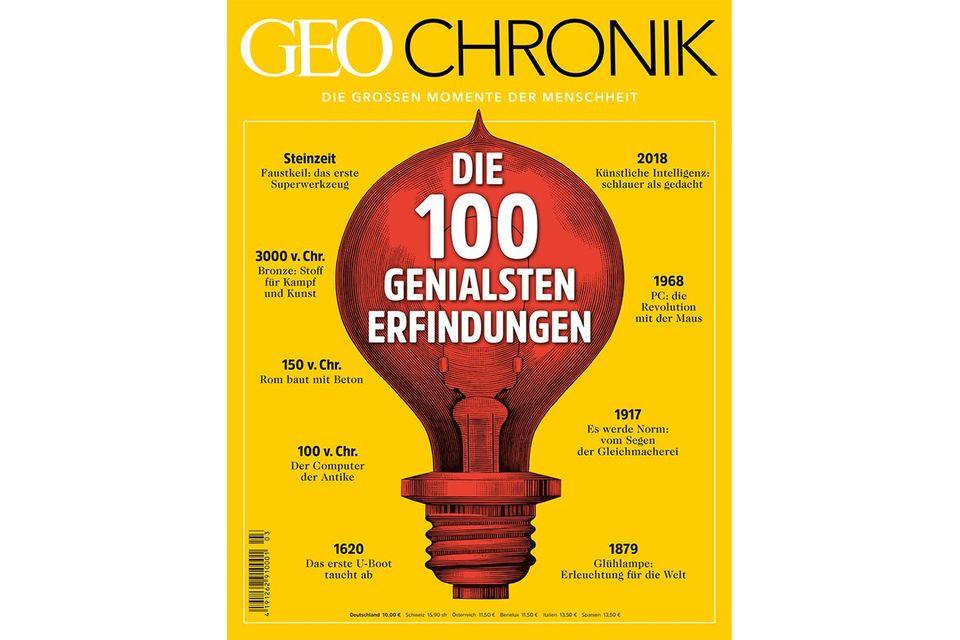 GEO Chronik Nr. 03 -Erfindungen