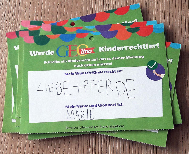 Wünsche zum Weltkindertag