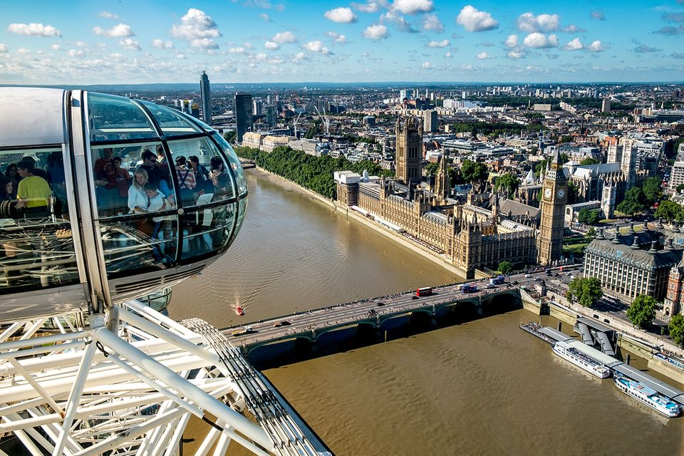 Blick vom London Eye