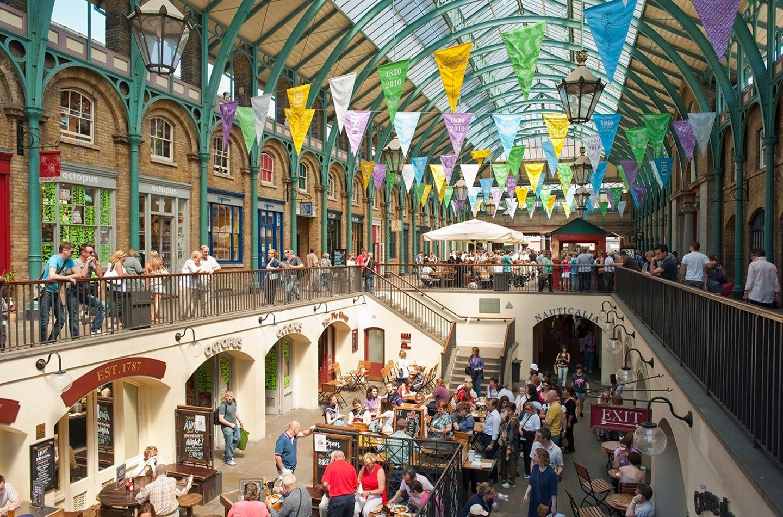 Markthalle in Covent Garden