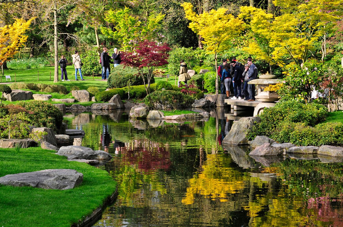 Holland Park in London