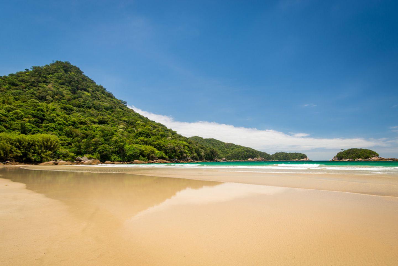 Dois Rios Beach auf der Ilha Grande