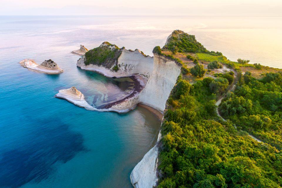 Cape Drastis auf Korfu