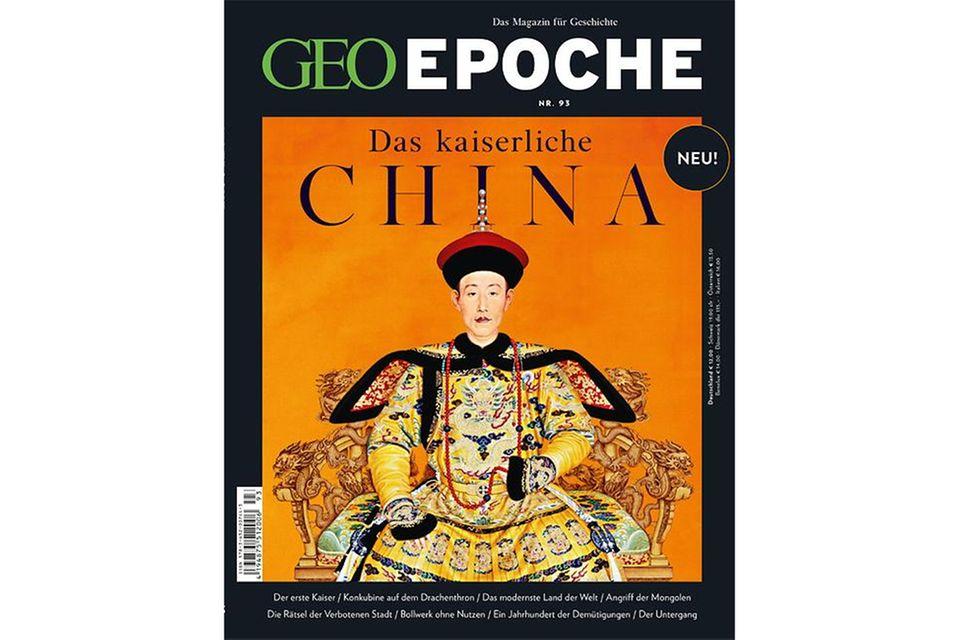 Geo Epoche Nr. 93: Geo Epoche Nr. 93 - Das kaiserliche China