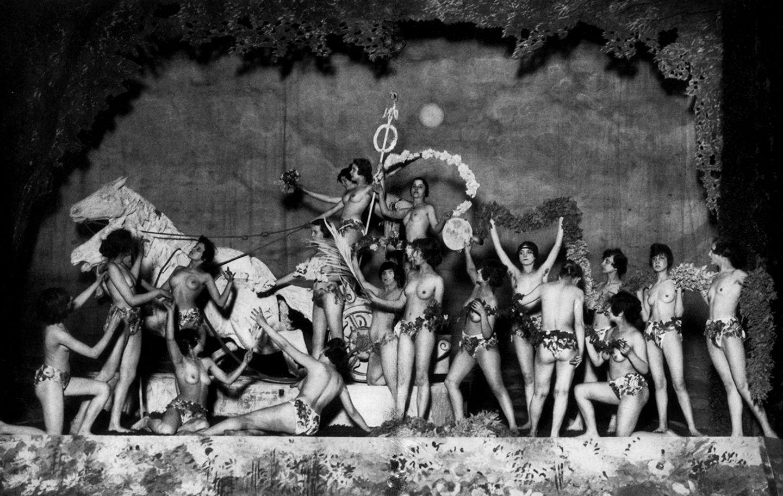 Die Girls der »Haller-Revue«, Berlin