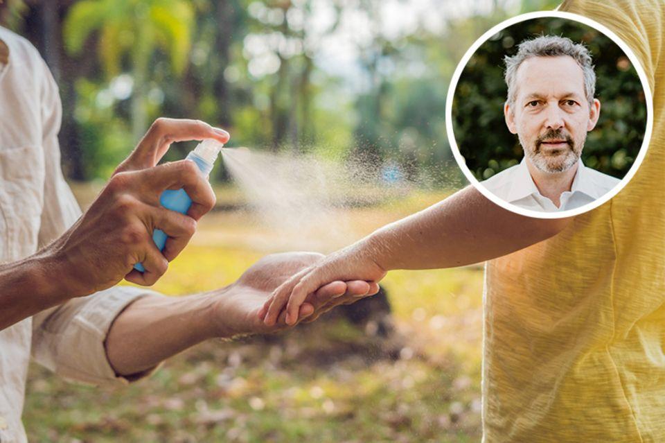 Insektenspray für die Haut
