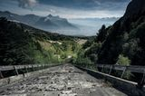 Geisterhäuser in den Alpen