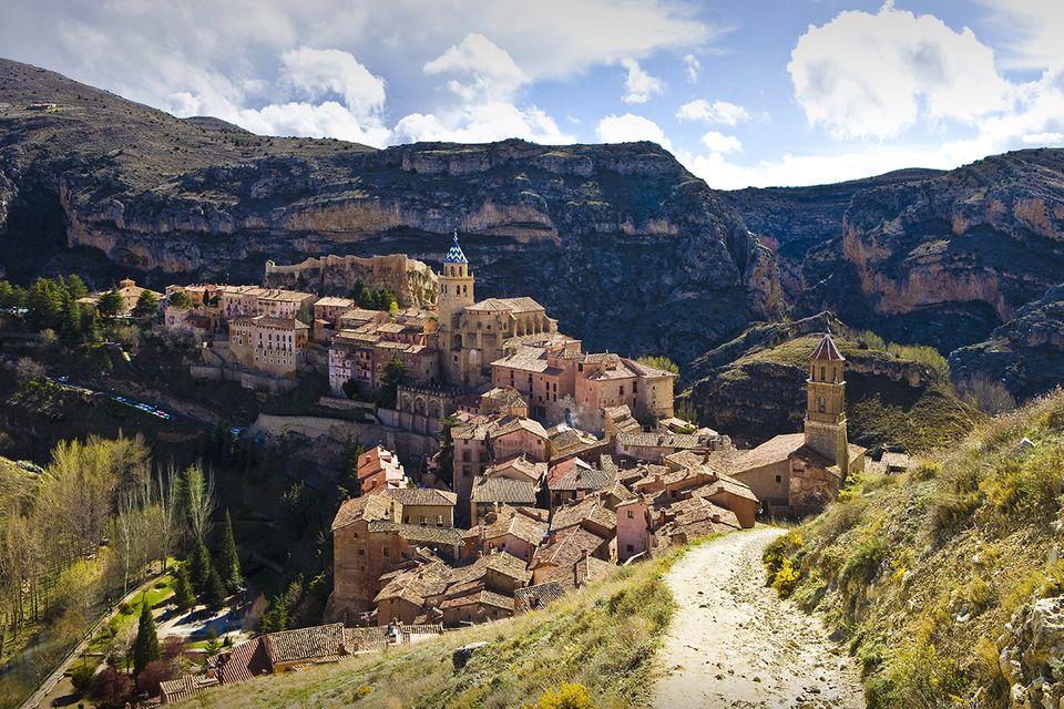 Blick auf Albarracin