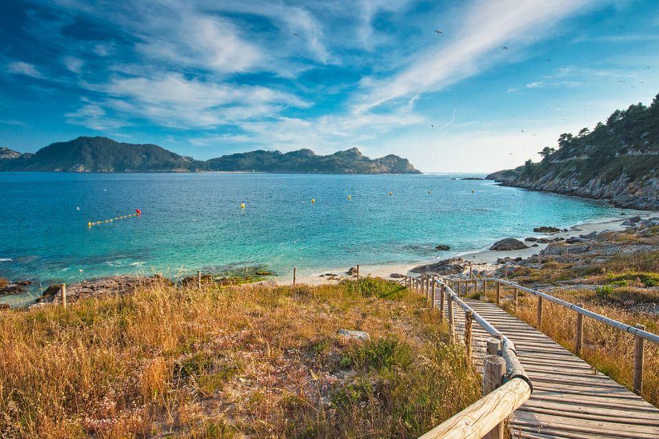 Islas Cies, Spanien