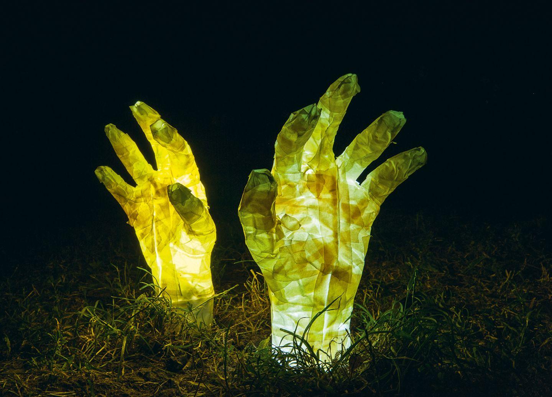 Zombiehand Leuchte