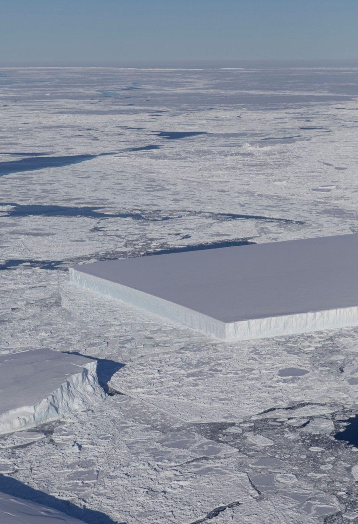 Quatratischer Eisberg