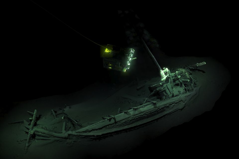 Forscher entdecken ältestes intaktes Schiffswrack der Welt