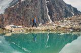 Bergsee auf dem E5