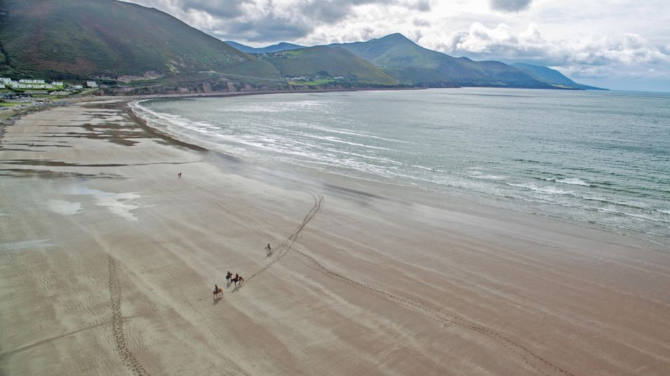 Rossbeigh Becah, Kerry, Irland