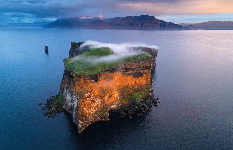 Vogelinsel Drangey