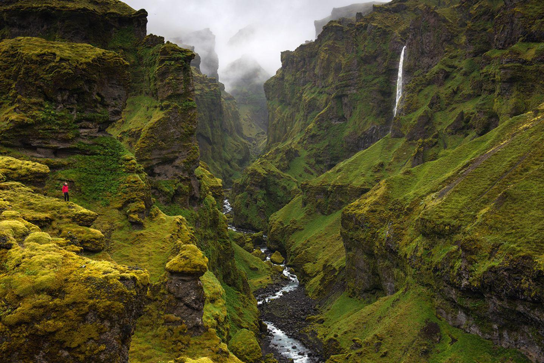 An den Gletscherzungen des Vatnajökull