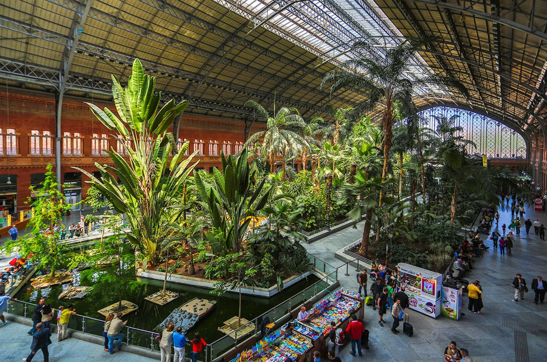 Bahnhof Madrid Atocha