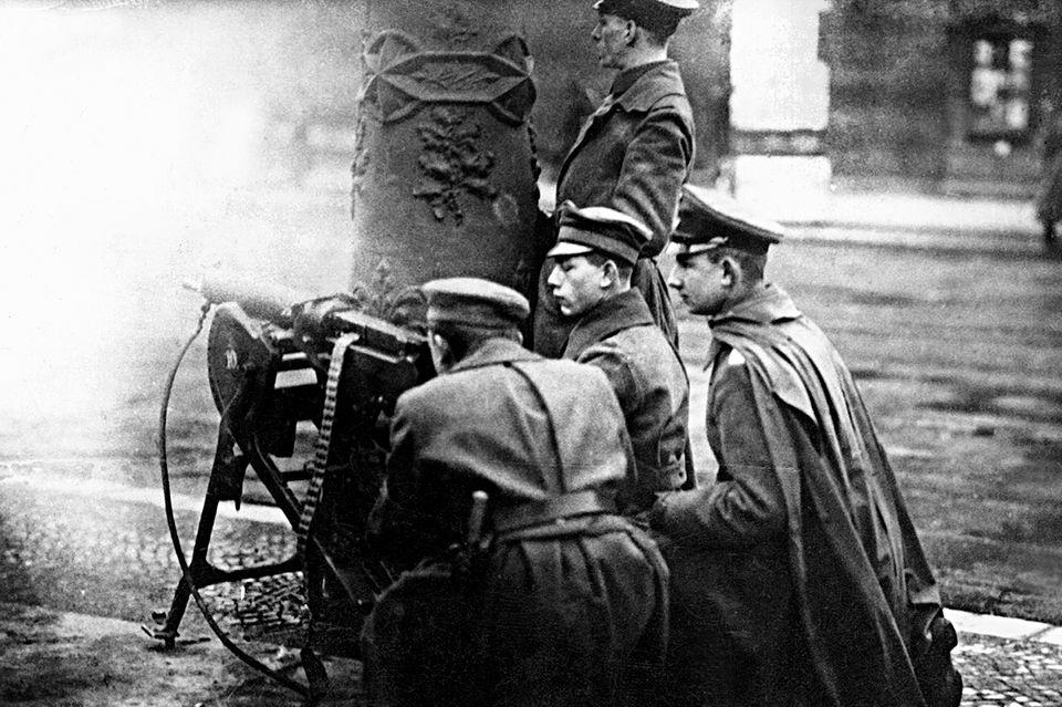 Heiligabend 1918