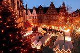 Weihnachtsmarkt, Münster
